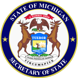 Link seal of michigan secretary of state